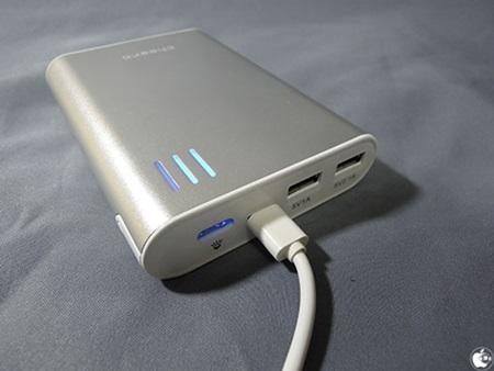 cheero Power Plus 2自動停止機能